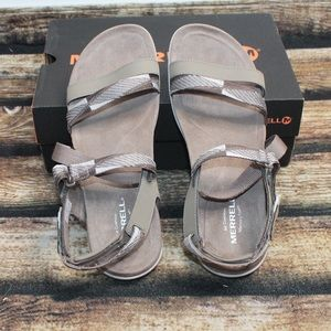 Merell Grey Sandals Size 8